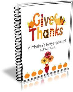 FREE Give Thanks Prayer Journal