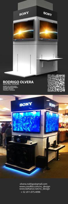 SONY CORNER MEXICO 2013 #DISPLAY #POP #SONY #RODRIGO_OLVERA #CORNER #MONTERREY #DESIGN #electrical #retail_design #industrial_design #MX
