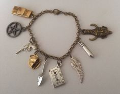 Livin on a Prayer the Supernatural Bracelet by CemeteryCat on Etsy, $28.95
