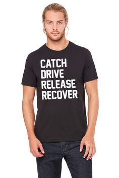 Wallington Catch Drive Release Recover T-Shirt