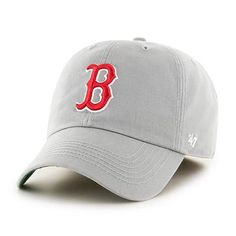 d28d75aabbfd9 Boston Red Sox 47 Brand Gray Franchise Fitted Hat