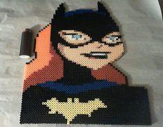 Batgirl Perler beads by phantasm818 on deviantART