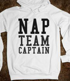 NAP TEAM CAPTAIN.. My boyfriend needs this