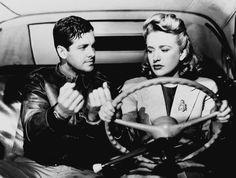 Priscilla Lane, Robert Cummings Saboteur (Alfred Hitchcock, 1942)
