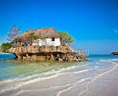 Poznati restoran na ostrvu. #travelboutique #Zanzibar #travel #putovanje #letovanje #odmor