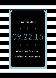 Save the Date Card |  Customizable with your own text |  CatPrint Design #235