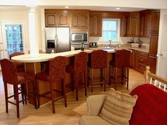 Kitchen Open Floor Plan Design Ideas, Pictures, Remodel, and Decor - page 17