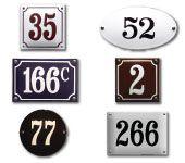 Huisnummers gebold