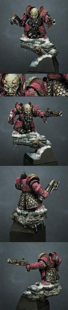 Frozen Heart. Chaos Dwarf. Warhammer Fantasy, Forge World