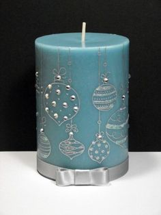 Image result for safe decorations for candles