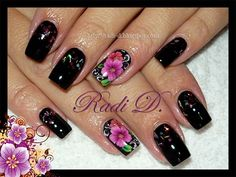 Nail Art Gallery - Pink Sapphire