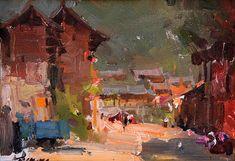 Jove Wang, Waterhouse Gallery, Original Oil, Figurative, Still Life, Landscape…