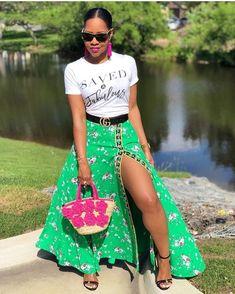 emerald green maxi skirt Shop @savedandfabulous Fashionista Street Style, Green Maxi, Emerald Green, Skirts, Shopping, Instagram, Skirt, Gowns