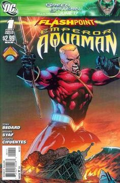 Flashpoint - Emperor Aquaman 1 2 3 complete set ---> shipping is $0.01!!!