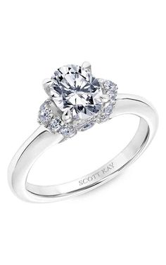 Shop Scott Kay 31-SK5596FVP-E Engagement rings | Bailey Banks & Biddle