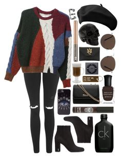 Untitled #793 by clary94 on Polyvore featuring Isabel Marant, Topshop, Yves Saint Laurent, Alexander McQueen, House of Harlow 1960, Kenzo, MANGO, Various Projects, Urban Decay and Calvin Klein