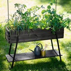 Højbed på ben - Sort - Urban Garden Company