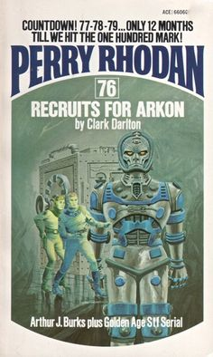 GRAY MORROW - art for Recruits for Arkon (Perry Rhodan #76) by Clark Darlton - 1975 Ace Books