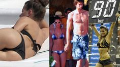 Video showing stills of Pau's beautiful girlfriend, Silvia Lopez Castro, with him and without.