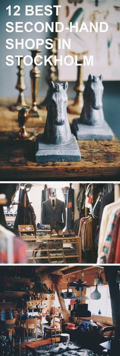 The 12 Best Second-Hand Shops in Stockholm | Sycamore Street Press http://ibeebz.com