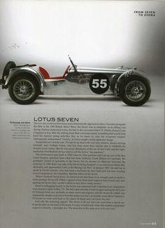Lotus super 7 Caterham Super 7, Caterham Seven, Lotus Sports Car, Lotus 7, Seven Heavens, Classy Cars, Vintage Race Car, Automotive Art, Custom Cars