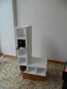 Tetris wine rack