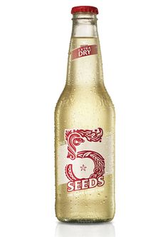 5 Seeds Cider made by Tooheys, Australia.