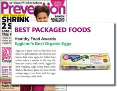 Prevention Magazine Healthy Food Awards 2012 - Best Egg #egglandsbest