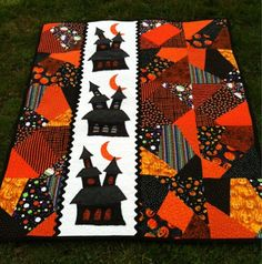 A Farm Wife's Journal: Simply Haunting...Halloween Quilt