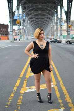 You can never go wrong with a little black dress. | 15 Style Tips From Nadia Aboulhosn, Your New Fashion Inspiration
