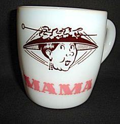 Milk Glass Mama Mug