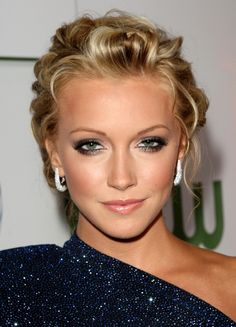 Updo for wedding, prom, homecoming - Katie Cassidy's Hairstyle