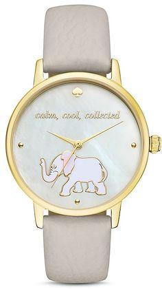 kate spade new york Elephant Metro Watch, 34mm