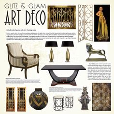"""Art Deco"" by thysania on Polyvore"