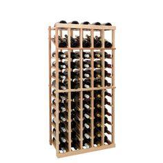 Wine Cellar Vintner Series 60 Bottle Floor Wine Rack Finish: Classic Mahogany