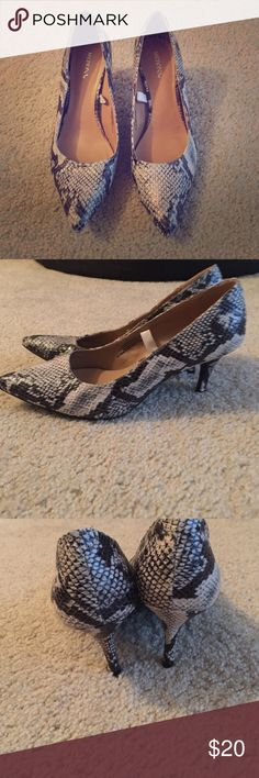 Woman's size 8 pointed toe heels! NWOT New without tags! Woman's size 8 pointed toe heels! Merona Shoes Heels
