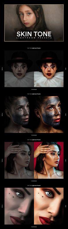 Photoshop Actions, Lightroom Presets, Halloween Face Makeup