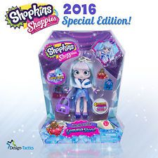Shopkins GEMMA STONE Shoppies '16 Special EDITION with 4 Shopkins - No Reserve!