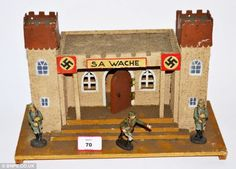 Hitler performing a Nazi salute, a wartime marching band and a figure of Rudolf Hess: The toys that brainwashed German children throughout World War Two Toy Castle, The Third Reich, Toy Soldiers, Military History, World War Two, Wwii, Kids Toys, Bing Images, German