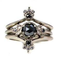 Hey, I found this really awesome Etsy listing at https://www.etsy.com/listing/281206344/gothic-bohemian-moon-and-crown-engagment