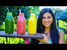 3 Delicious & Easy FullyRaw Smoothies to Feel Good and Lose Weight - YouTube