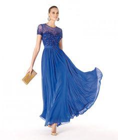 Modelo Reshma. Vestidos de Fiesta para Damas de Honor y Madrinas. Avance Colección Pronovias 2014.