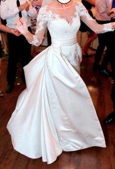 a334481bbc Suknia ślubna PRONOVIAS Odette - 6712554109 - oficjalne archiwum allegro