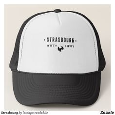 Strasbourg Trucker Hat - Urban Hunter Fisher Farmer Redneck Hats By Talented Fashion And Graphic Designers - #hats #truckerhat #mensfashion #apparel #shopping #bargain #sale #outfit #stylish #cool #graphicdesign #trendy #fashion #design #fashiondesign #designer #fashiondesigner #style