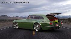 Volvo P180ZES Green