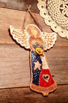 Texas Angel Wall Art / Texas Decor / Texas Flag by TexasAngelGifts, $25.00