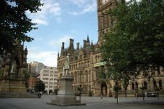 Albert-Square-Manchester, UK