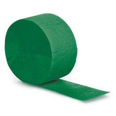 """[Single Pack] Crepe Paper Streamer Roll """"Plain Green Design"""" for Decoration and Craft Supply with Ft / M Length {Emerald Green Color) Crepe Paper Streamers, Party Streamers, Green Theme, Green Colors, Green Party, Streamer Decorations, Paper Bowls, Halloween Party Supplies, Michael Kors"""