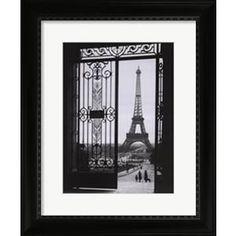 eiffel tower gates prints - Google Search
