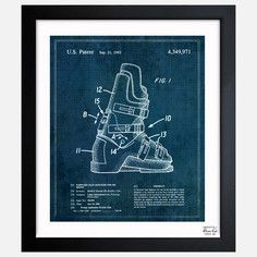 Ski Boots 1982, $83.33, now featured on Fab.